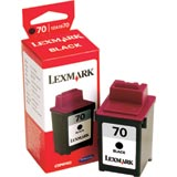Lexmark 12A1970 ( Lexmark #70 ) Black Inkjet Cartridge