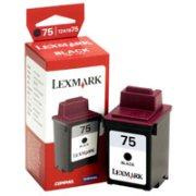 Lexmark 12A1975 ( Lexmark #75 ) Black Inkjet Cartridge