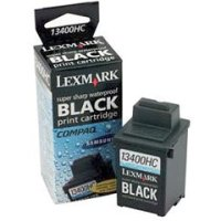 Lexmark 13400HC black super-sharp waterproof inkjet cartridge